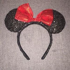 Minnie Mouse Ears - Authentic from Disneyland